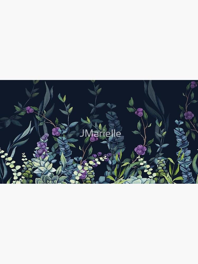 Midnight Eucalyptus Garden by JMarielle