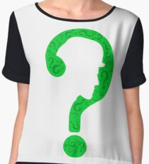 The Riddler ? Women's Chiffon Top