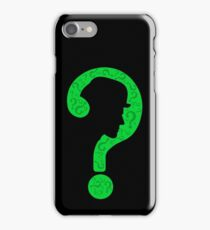 The Riddler ? iPhone Case/Skin