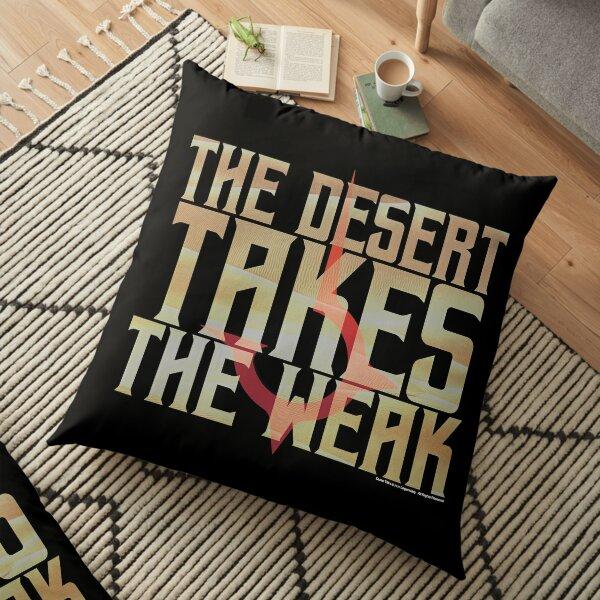 The desert takes the weak-Dune-Baron Harkonnen Floor Pillow