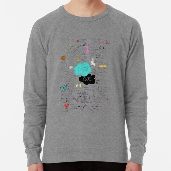 The Fault in Our Stars - ORIGINAL ARTIST Lightweight Sweatshirt