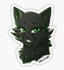 Warriors Stickers - Hollyleaf Sticker
