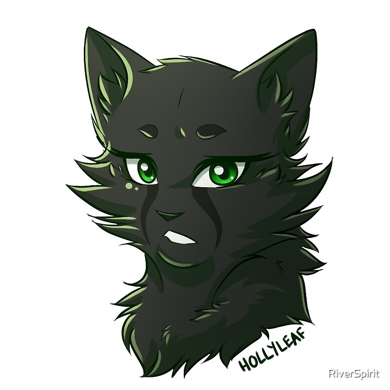 Quot Warriors Stickers Hollyleaf Quot By Riverspirit Redbubble