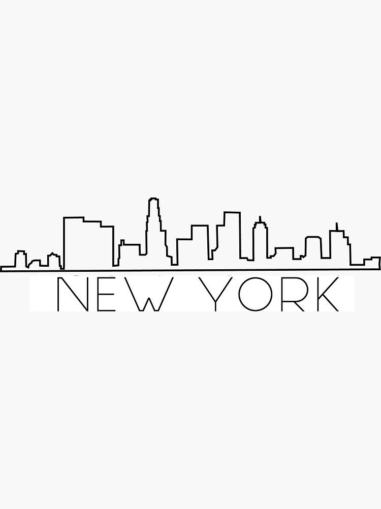 New York Skyline by sophiacosta