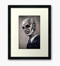 Gentlemen illustration Framed Print