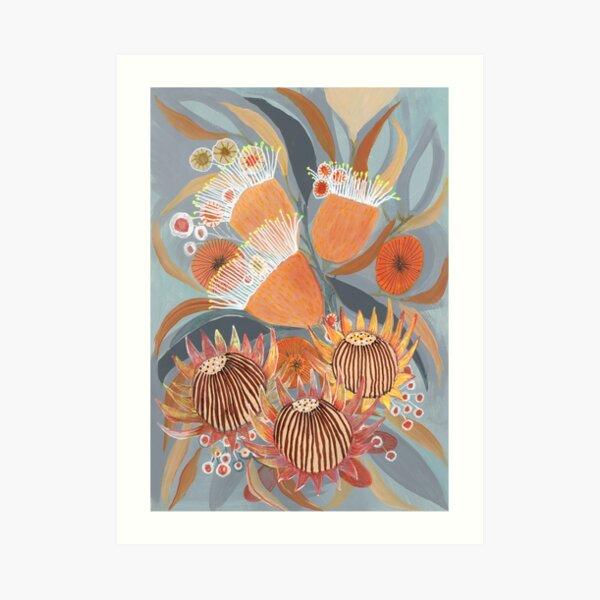 Australian Boquet Art Print