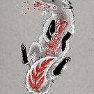 Fox Flowers by Daks