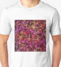Autumn Leaves Abstract T-Shirt