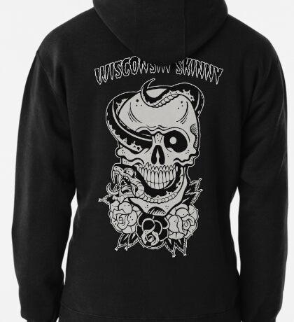 Wisconsin Skinny Snake Skull T-Shirt
