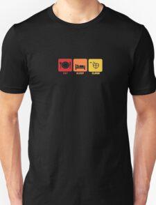 Eat Sleep Clash Funny Video Game Clans Kids Tee Shirt Unisex T-Shirt