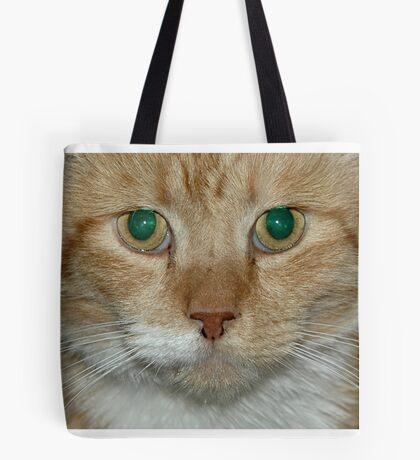 Green Eyes Tote Bag