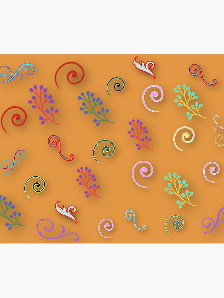 Abstract floral patterns  by Gans10