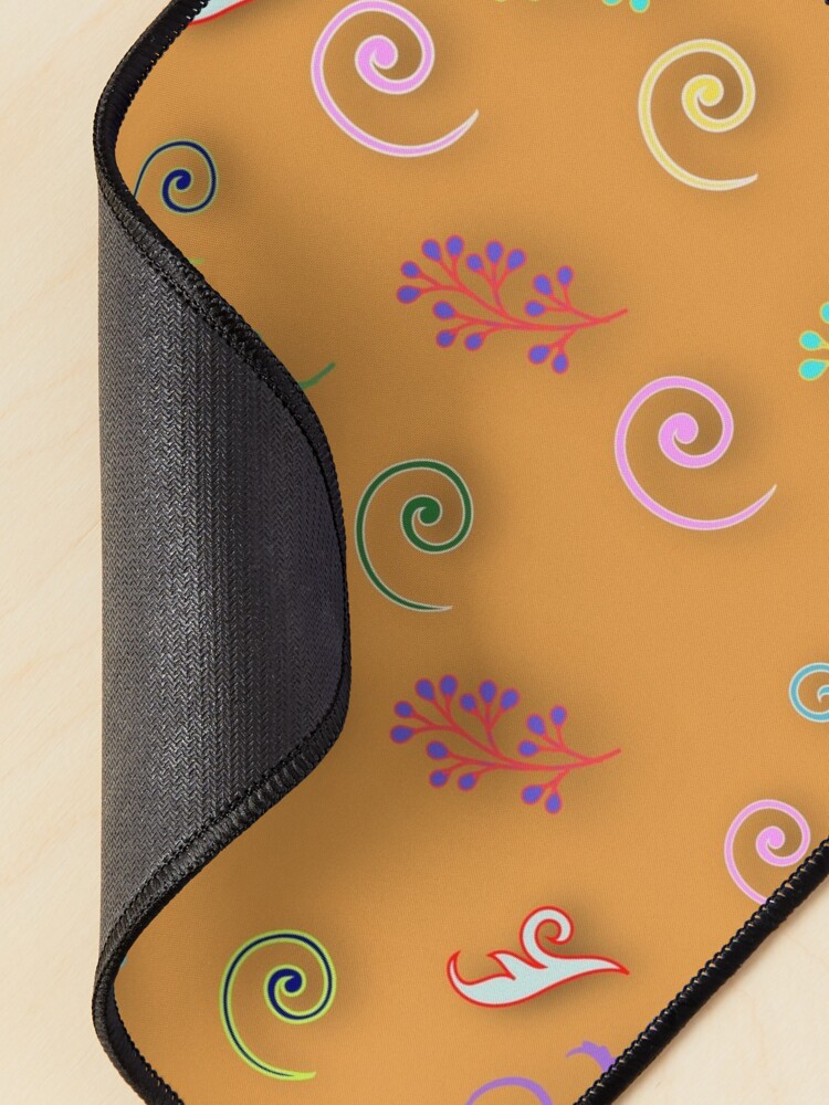 Alternate view of Abstract floral patterns  Mouse Pad