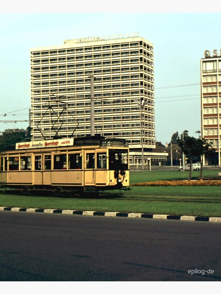 Straßenbahn auf dem Ernst-Reuter-Platz, 1965 von epilog-de