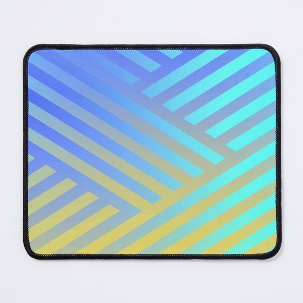Geomatric line pattern  Mouse Pad