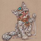 Mummy Kitty Unwinds by justteejay