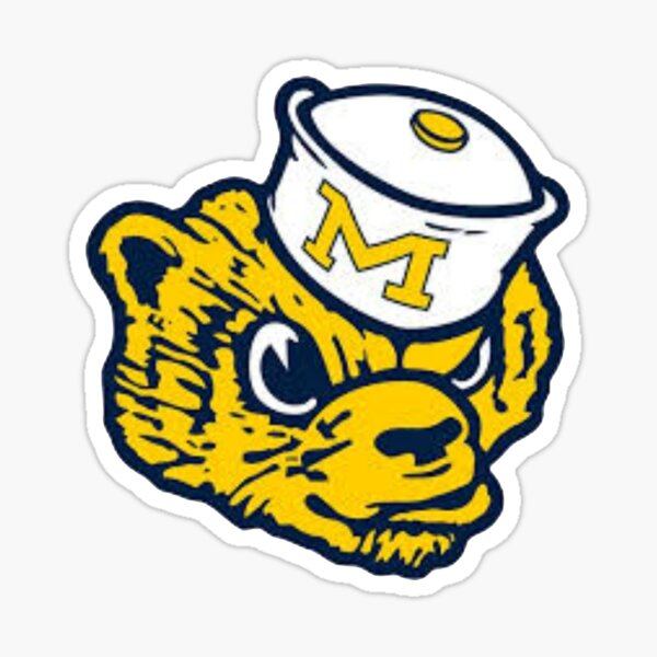 Michigan- Mascot Sticker