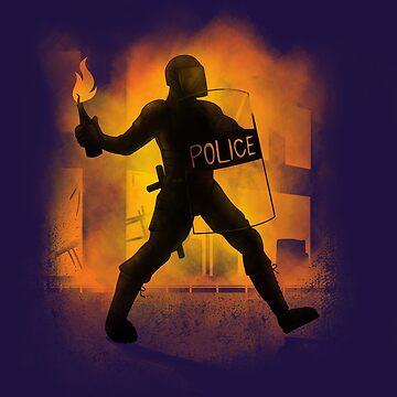 Riot Cops by biotwist
