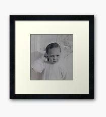'Donna Williams' aged 4 Framed Print