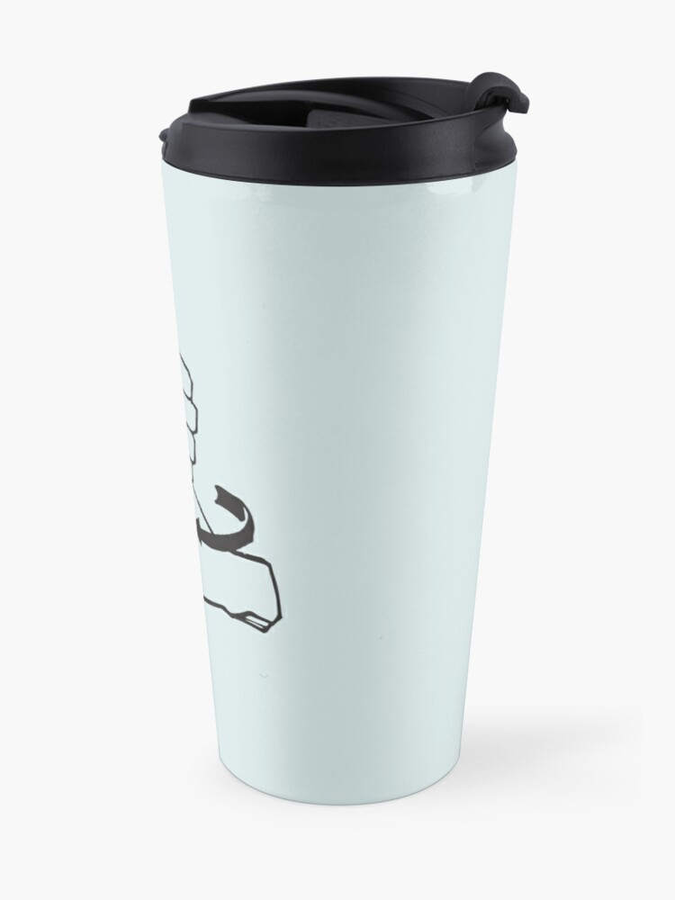 Alternate view of ASL Coffee Travel Mug