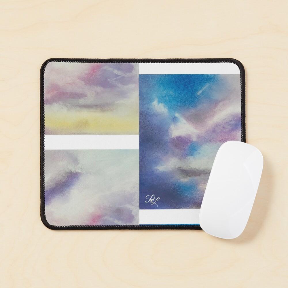 Pastel Clouds  Mouse Pad