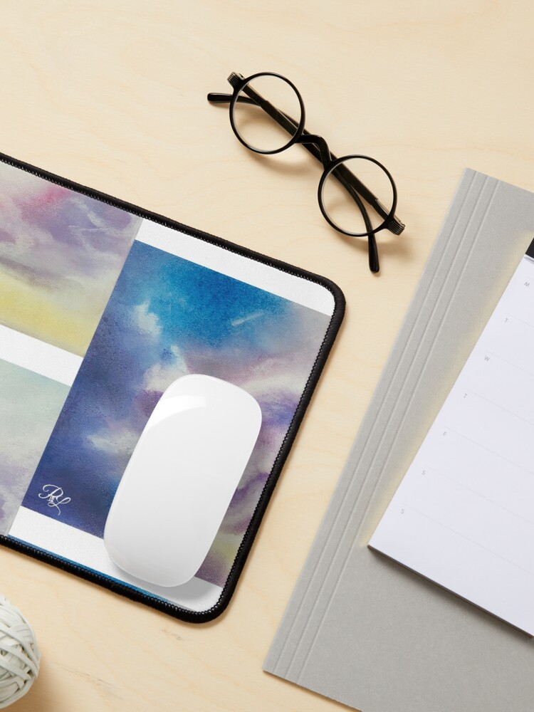 Alternate view of Pastel Clouds  Mouse Pad