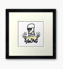 swag skelly Framed Print
