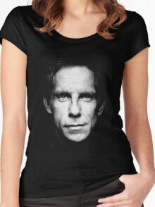 ben stiller  Women's Fitted Scoop T-Shirt