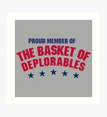 The Basket of Deplorables Art Print