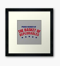 The Basket of Deplorables Framed Print