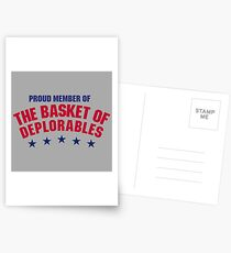 The Basket of Deplorables Postcards