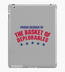 The Basket of Deplorables iPad Case/Skin