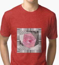 Needlework 1 . Patchwork. Roses. Tri-blend T-Shirt