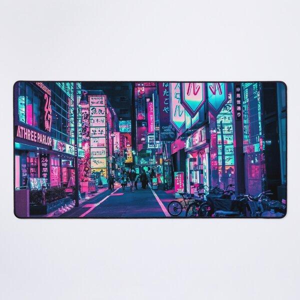 Tokyo - A Neon Wonderland  Desk Mat