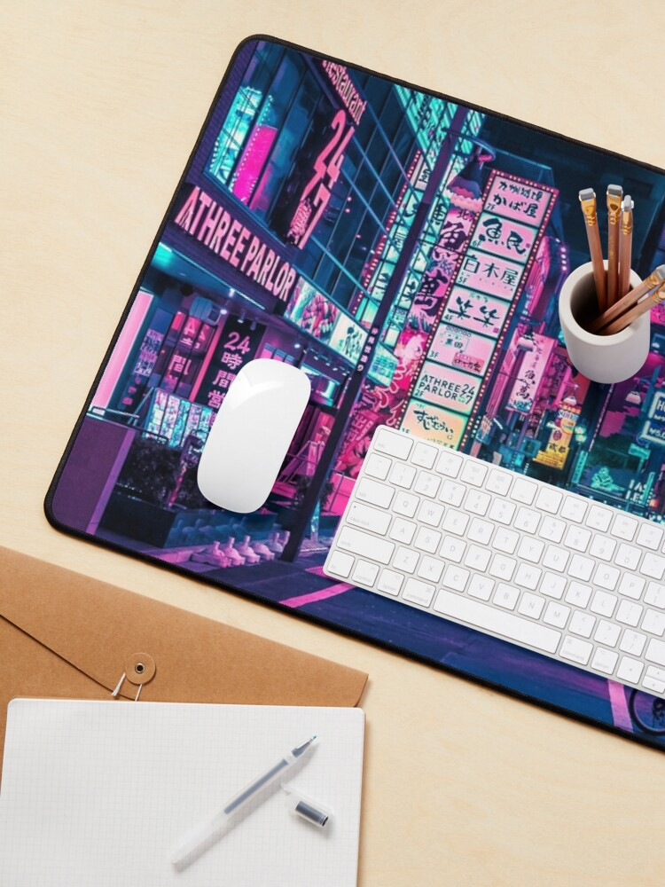Alternate view of Tokyo - A Neon Wonderland  Mouse Pad