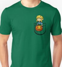 The Legend of Zelda Link Halloween Pumpkin T-Shirt