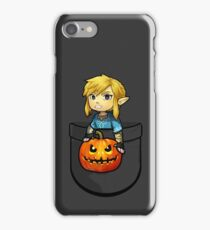 The Legend of Zelda Link Halloween Pumpkin iPhone Case/Skin