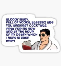 Hangover Prayer Sticker