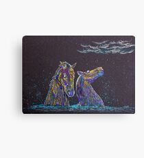 The Kelpies Canvas Print