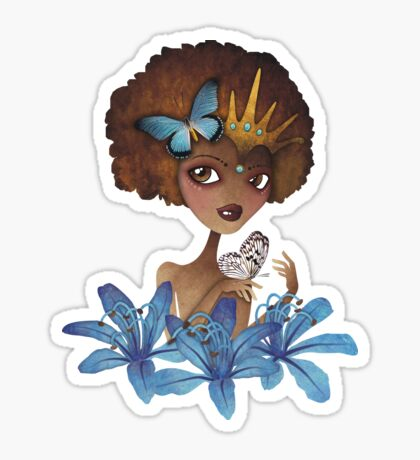 Lily of the Nile Sticker