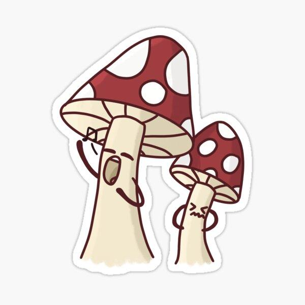 Mushroom Creatures Sticker