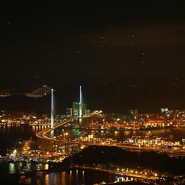 Hong Kong at Night by 10dier