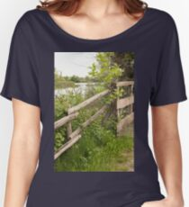 landscape lake Women's Relaxed Fit T-Shirt