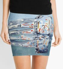 Fire and Ice Mini Skirt