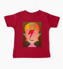 We can be heroes just for one day. Kids Clothes