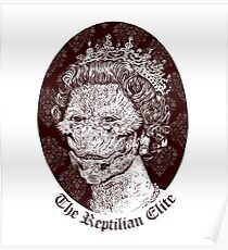 The Reptilian Elite Poster