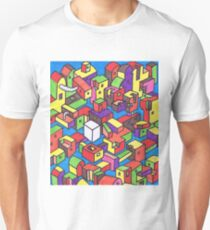 New Town #4 (Colour) Unisex T-Shirt