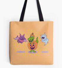 Happy T-Rex Halloween Tote Bag