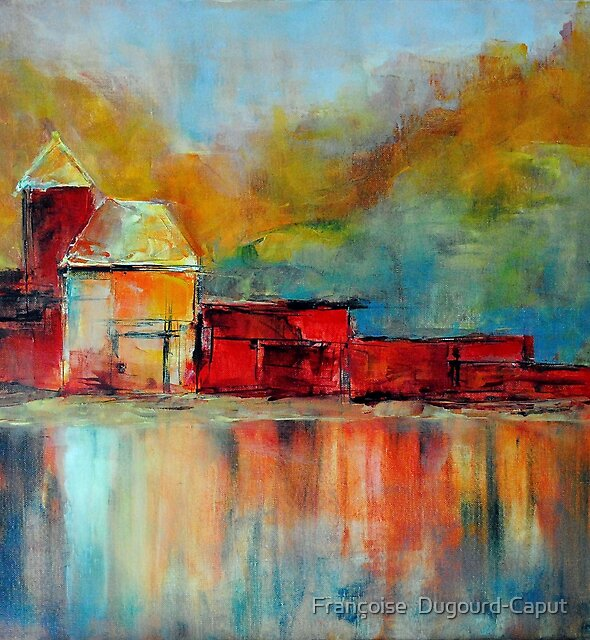 Madinina, featured in Art Universe, Oil Painting Group, featured in Group-Gallery Art & Photography  by Françoise  Dugourd-Caput