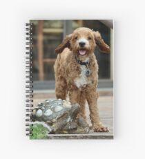 Kamea on deck Spiral Notebook